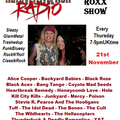 The ROXX Show Hard Rock Hell Radio 21 Nov Black Aces Black Roze Coyote Mad Seeds Heartbreak Remedy