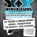 Djset Live@ NINJATUNE XX PARTY (Lyon, France: 9-10-2010)