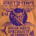 Strict Tempo 02.18.2021 (Watching Existence)