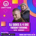 DJ SIDES & 4DEE 10:00 PM - MIDNIGHT 19-01-21 22:00