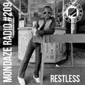 Mondaze #209 w/ Restless ( ft Kleeer, Suff daddy, Ray Barretto, Flamingosis, D'Angelo, .. )