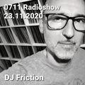0711 Radioshow on egoFM - 23.11.2020 - DJ Friction