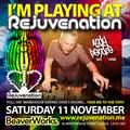 Andy Pendle - Italian Lounge - Rejuvenation - Take Me To The Top 11.11.17 - Beaverworks, Leeds