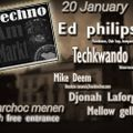 Mike Deem @ Techno Am Markt Menen  20-01-2018