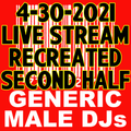 Part 2 of (Mostly) 80s & New Wave Happy Hour - Generic Male DJs - 4-30-2021