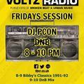 pCon DnB (1 hour mix) Live on Basement Voltz Friday 8th August