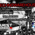 Quest London Radio AND TECHNOWAREHOUSE PRESENTS TECHNO ADDICTS BELGIUM: AK(BE)