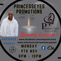 PRINCESSEYES PROMOTIONS FEATURING ANTONIO PASCAL LIVE ON FACEBOOK & MIXCLOUD