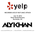 DJ ALYKHAN: Live from Yelp's Mac Attack