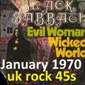 JANUARY 1970: Rock on uk 45s