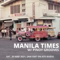 Manila Times w/ Pinoy Grooves - 19th March 2021