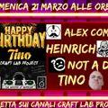 Not a Dj - Happy Birthday Tino  21-03-2021
