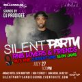 """Silent Party San Diego """"R&B Lovers & Friends"""" Edition"""
