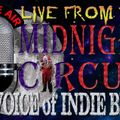 """LIVE from the Midnight Circus """"The Voice of Indie Blues"""" 2/3/2018"""