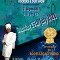 SUNDAY 25TH JULY 21 ROCKERS & DUB SHOW