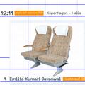 *regio art express 100* mit Emilie Kumari Jayaswal von Kopenhagen nach Slikolypso