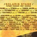 BACK TO MARS @ SONICA FESTIVAL 2013 -uplifting set Prog Dark Psy 136-140 BPM