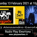 Club Ibiza set 13 February 2021 dj Alessandro Garofani