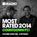 Defected In The House Radio - Most Rated Countdown Pt 1 - 08.12.14 - Guest Mix Copyright