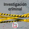 Investigación Criminal 2019-09-05 (Análisis de Riesgos en la Investigación)
