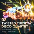 Twisted Tuesday Disco Quartet - Mayan Warrior - Burning Man - 2018