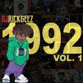 DJ RICK GEEZ - 1992 VOL. 1