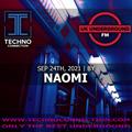 NAOMI exclusive radio mix UK Underground presented by Techno Connection 25/09/2021