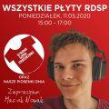 WSZYSTKIE PŁYTY RDSP x Maciek Nowak x radiospacja [11-05-2020]
