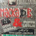 Gom Jabbar & Puppa Leslie feat.Aldo B Live au Bikini(Toulouse) 12.04.91