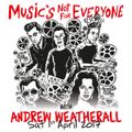 Andrew Weatherall Present's: Music's Not For Everyone Dub Special, recorded in the Vic Bar, Glasgow