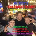 DJ Tiny's Saturday Night Retro Party Mix Podcast, Proudly Presented by DJ Dino for Centre Stage.