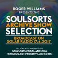 The Soulsorts Archive Show Selection #3 - first broadcast on Solar Radio 3rd April 2017