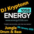 DJ Kryptonn - Energy1058.com 9th January 2020