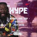 #TheHypeJuly - Vibes II - Old School Hip-Hop and R&B Mix - @DJ_Jukess