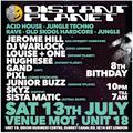 Distant Planet @ MOT 13-07-19 DJ Warlock Oldskool Hardcore/Jungle - Audio download link in notes