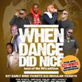 When Dance Did Nice 18 Promo Mix [May 21, 2016]