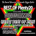 FEB 26 2021 Heart Beat of ZION w EMCEE RASTA STEVIE BEST of Plenty20 Vol 8 RIDDIM JUGGLIN
