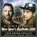 December 2018 Mix | Toy Armada & DJ GRIND New Year's Australia Tour Promo Podcast