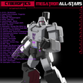 Cyberoptics - Megatron All-Stars