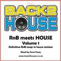 Back2House - RnB meets House Volume 1