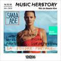 Saada Abe pour Music Herstory (influences musicales)