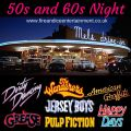 50s & 60s Jukebox Night (Monday 16th November 2020)