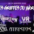 Weird's up - 14/01/20 - invités : Chats Noirs asso/Spin/Storuption (festival Les Griffes du Nord)