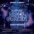 Alleyout Night Garden: Ambar Birthday Promo Mix