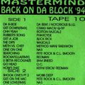 EP 016 - Mastermind - Back on Da Block tape 10 (1994)