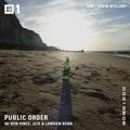 Public Order w/ Jlte, Lawson Benn & Ben Vince  – 23rd of October 2020
