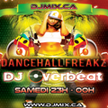 DJ Overbeat - Dancehall Freakz #04 (2018-06-30) DJMIX.CA