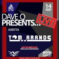 Dave Q Presents... LIVE with Tom Arands - 14th May 2021