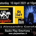 Club Ibiza 10/04/2021 dj Alessandro Garofani