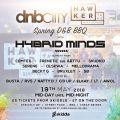 SB Drum & Bass Mix April 2018 (DNBcity Spring BBQ w/ Hybrid Minds Promo Mix)